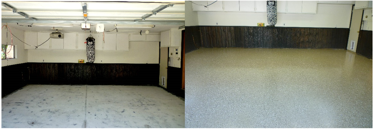 Basement Floor Paint Examples From Our Top Of The Line Kits