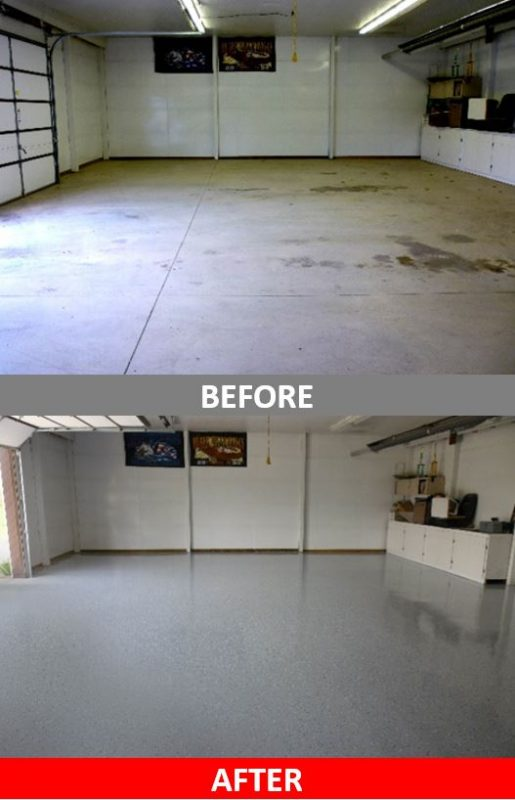 Epoxy Before And After : Epoxy probefore after pictures