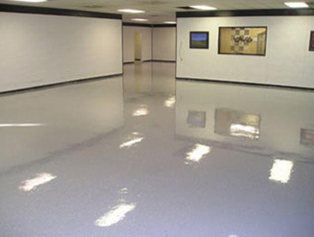 Are epoxy floors slippery?