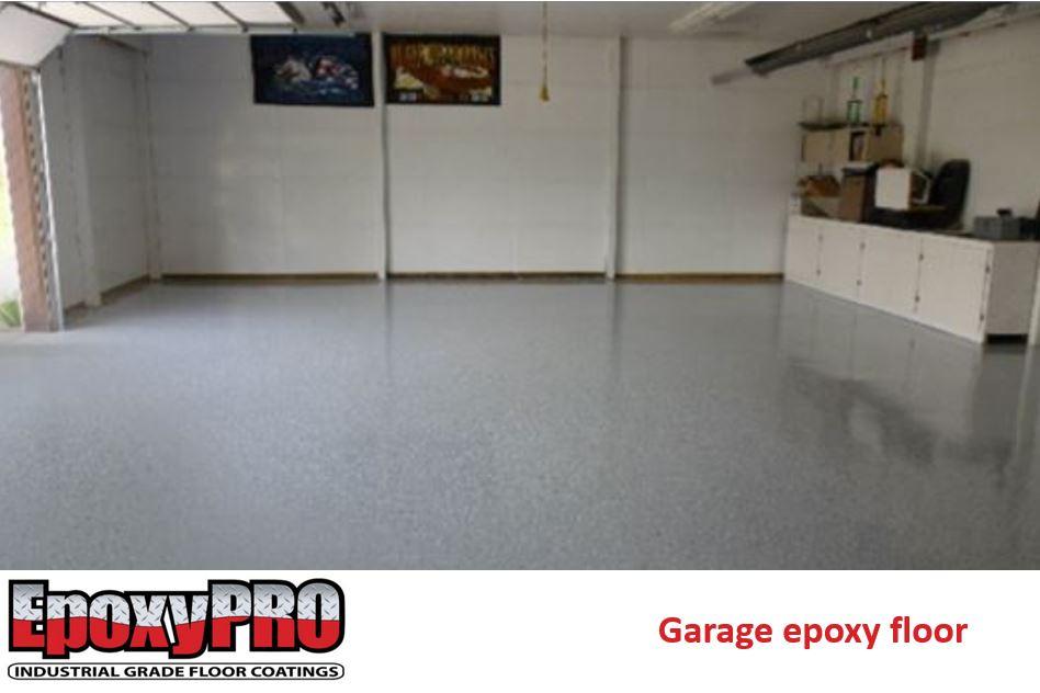 Garage floor epoxy